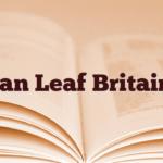 Ian Leaf Britain